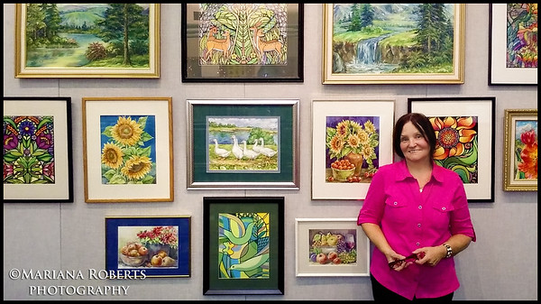 Art Gallery at The Baldwisville Public Library by Anna Perun