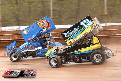 Sharon Speedway - All Star Sprints - 5/1/21 - Paul Arch