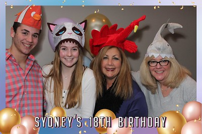 Sydney's 18th Birthday