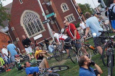 20120831 Detriot Critical Mass Bike Ride