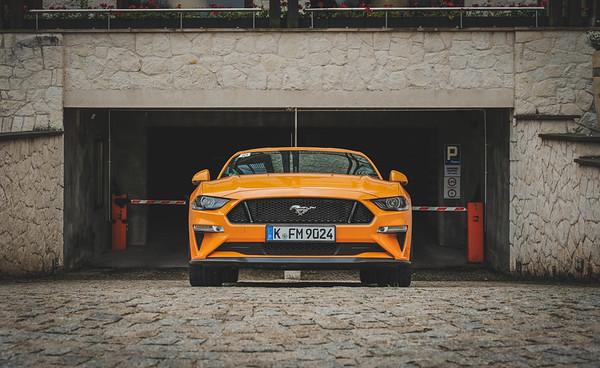 Ford Mustang x Fujifilm