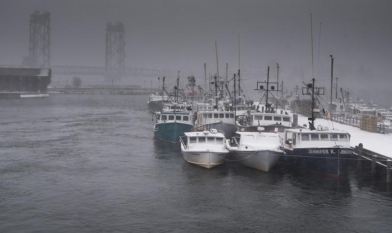 Harbor boats - winter