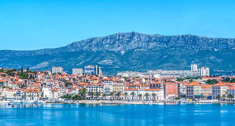 city view of Split, Croatia