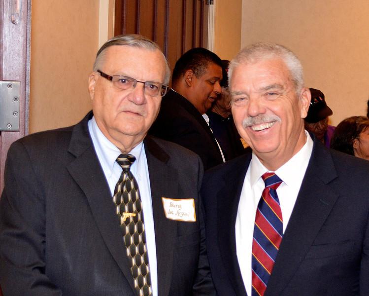 Sheriff Joe & Gordon C. James
