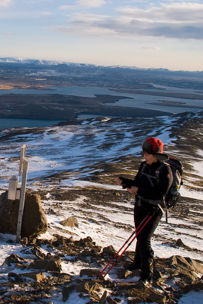 Þorbjörg við steininn