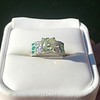 2.10ct Art Deco Peruzzi Cut Diamond Ring, GIA W-X SI2 33