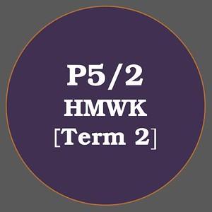 P5/2 HMWK T2
