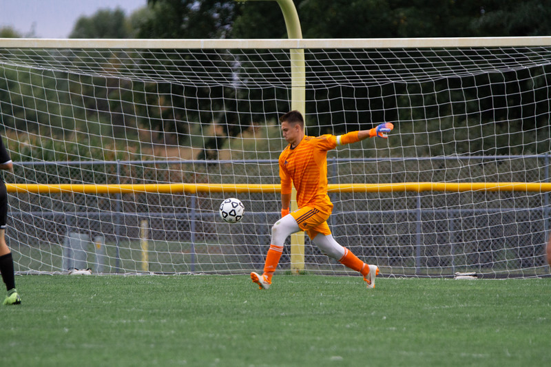 Holy Family Boys Varsity Soccer vs. Hutchinson, 9/26/19: Bryce Richter '20 (1)