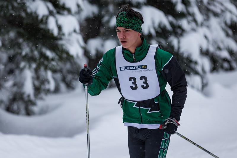 Mt. Hood Meadows High School Skiathlon