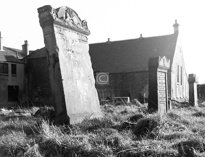 Bridgeton (Greenhead) U F Church in Tullis St (demolished c1937) was one of the few in the area to have its own burial ground.    February 1974
