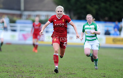 WSL1 Yeovil Ladies v Liverpool Ladies