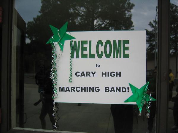 2006-09-22: Cary vs Lee County - 8th grade night