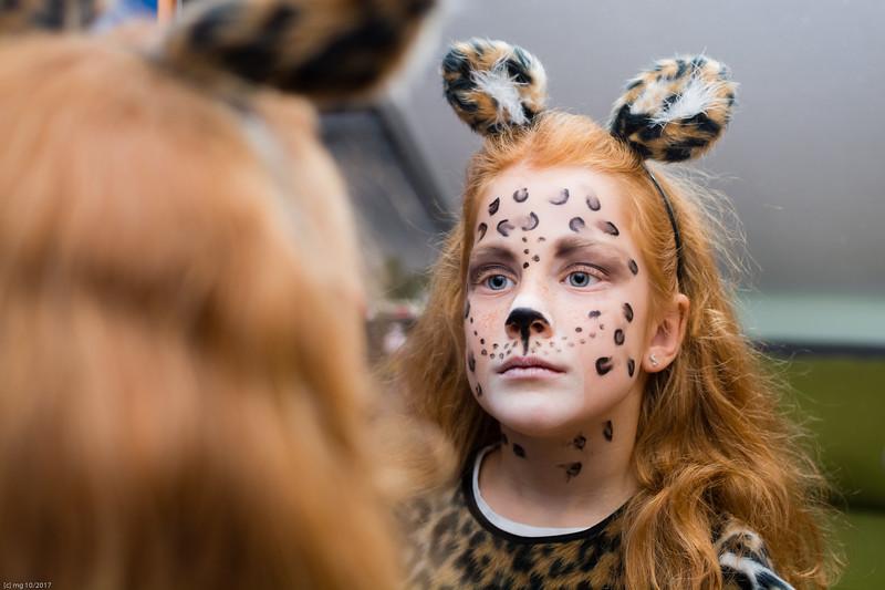 Leopardenmädchen / Leopard Maid