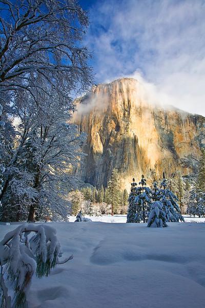 California, Yosemite Winter 2009 - 加利福尼亚 优胜美地国家公园 冬 2009