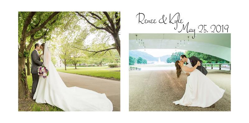 Renee & Kyle Flush Mount