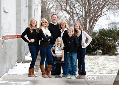 Aarsvold Family 2012