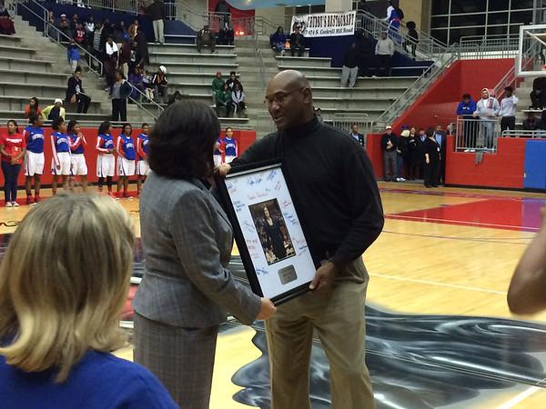 Coach Cathy Self-Morgan's 1,000th Win Celebration