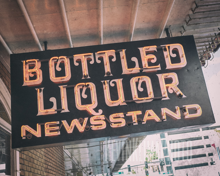 Bottled Liquor - Newsstand