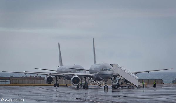 RNZAF B757 Aircraft at WLG 2012