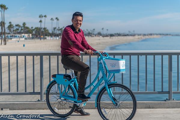 Bike Share along the beach