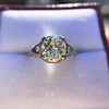 1.88ctw Platinum Filigree Solitaire Ring by C.D. Peacock, GIA S-T, VS 9