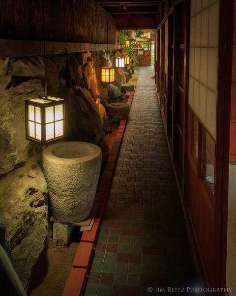 Kijiya restaurant outside Hitoyoshi, Japan