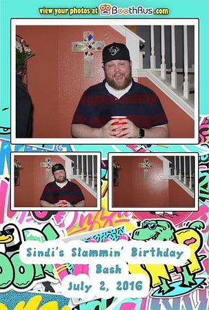 Sindi's Slammin' Birthday Bash 7/2/2016