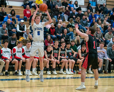 St. Charles North boys basketball vs Benet