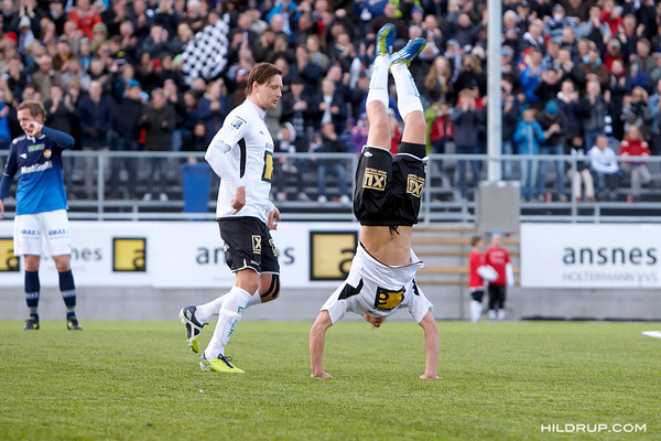 Asker Fotball - Strømsgodset (1.5.13)