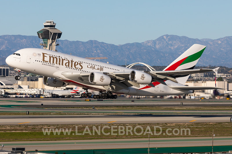Emirates A380-800 - A6-EET - LAX