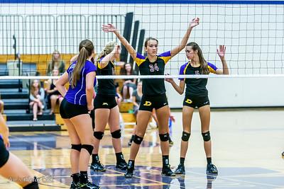 HS Sports - DeForest JV Volleyball - Sept 22, 2016