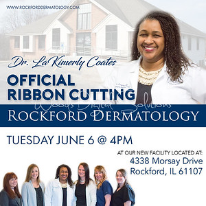 Rockford Dermatology Ribbon Cutting