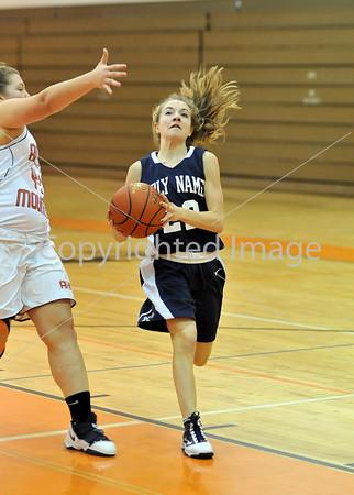 Holy Name VS Antietam Girls Basketball 2009-2010