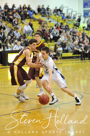 Boys Basketball: Conference 14 Championship, Stone Bridge vs. Broad Run 2.23.15 (by Steven Holland)