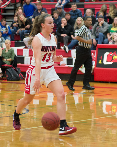 Orting Girls BBall Vs Auburn Riverside 2018