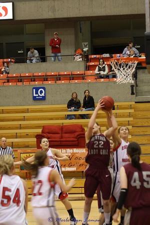 2010-01-08 Lady Griz 64 vs. Eastern Washington 67
