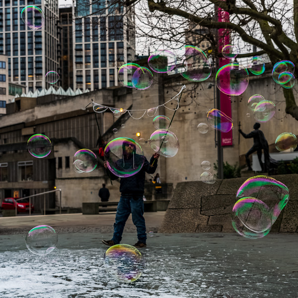 Bubbles on South Bank