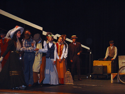 Hello Dolly - 2008-07 - Slide Show On Stage