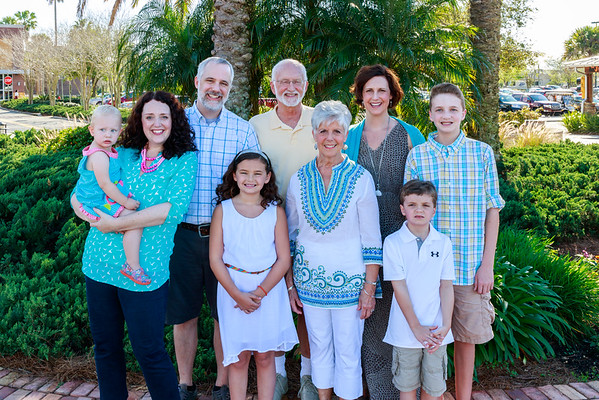 The Herzing Family March 2015