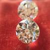 2.88ctw Old European Cut Diamond Pair, GIA I/VVS2 &  GIA H VS1 9