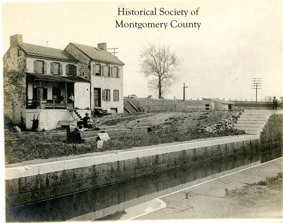 . This undated photo from the Historical Society of Montgomery County shows the Catfish Dam in Upper Merion.
