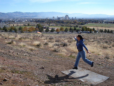 "Disc Golf - ""The Ranch"", Reno 11-16-2010"