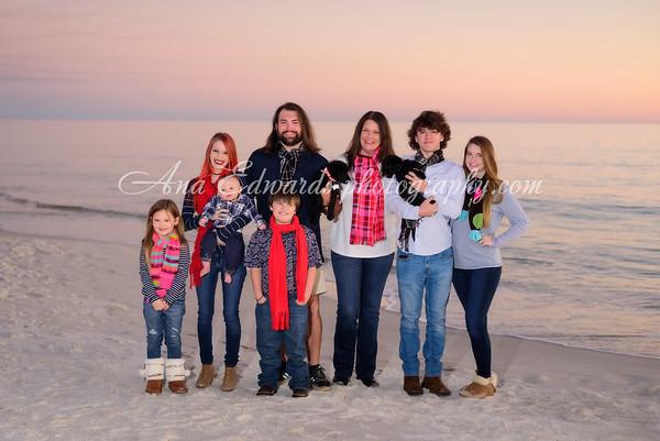 The Barfield family  |  Panama City Beach