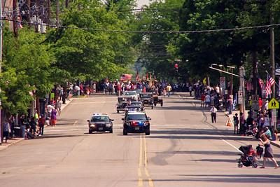 Leonia Memorial Day Parade  5-26-14