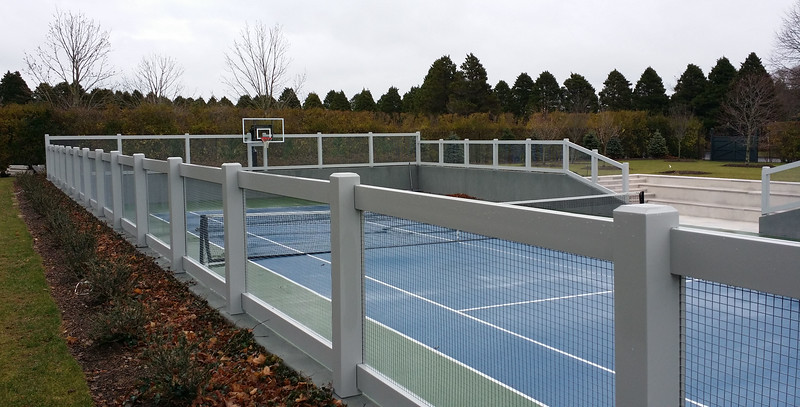 294 - NY - Tennis Court Fence