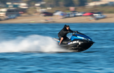 Jet Skiing at Ski Beach