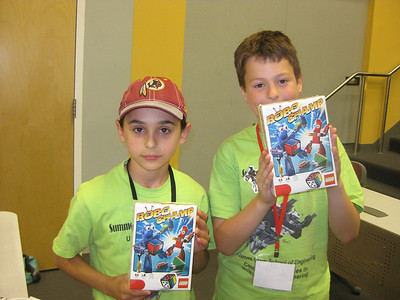 Summer LEGO Robotics Camp Session 1