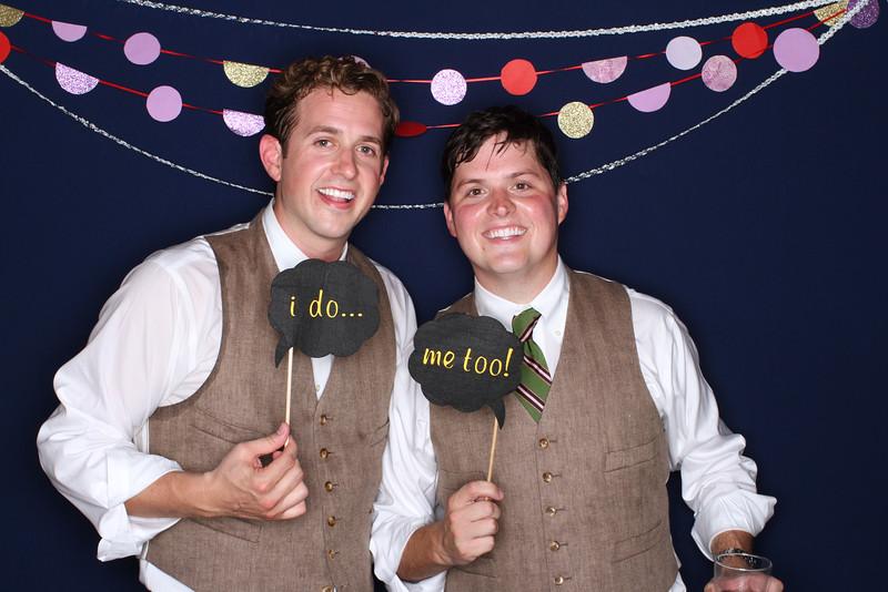 Rickie + David Photobooth
