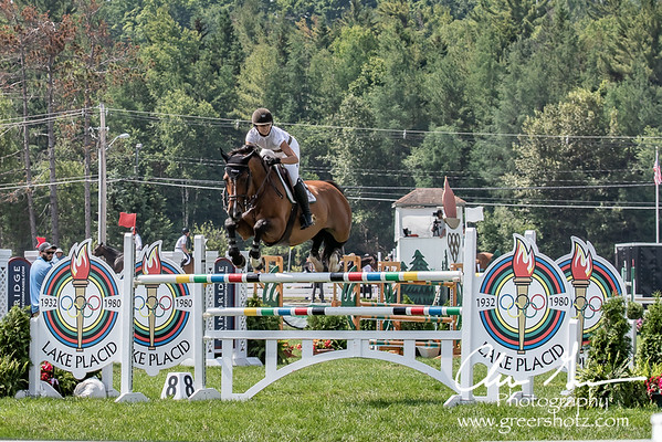 Sophia Pilla on Venturo 9 at Lake Placid Horse Show 2018