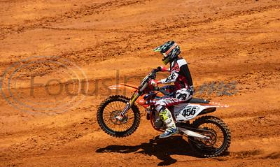 Motocross Practice at Swan MX Raceway Park by Sarah A. Miller